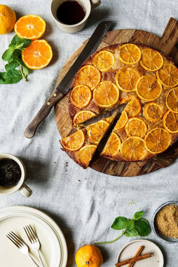 ORANGE & SPICE UPSIDEDOWN CAKE by ABOUT THAT FOOD